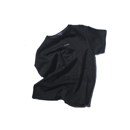 WTZ logo t-shirt / Black