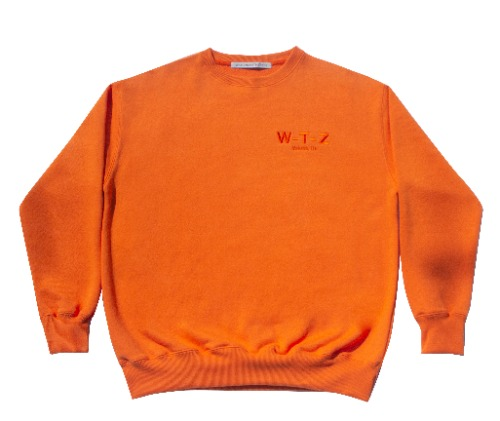 T002 WTZ sweat shirt_orange
