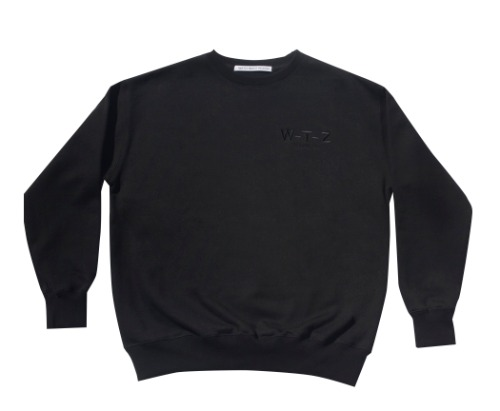 T002 WTZ sweat shirt_black